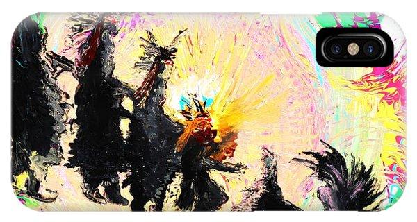 Kachina Fire Dancers IPhone Case
