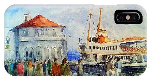 Kadikoy Ferry Arrives IPhone Case