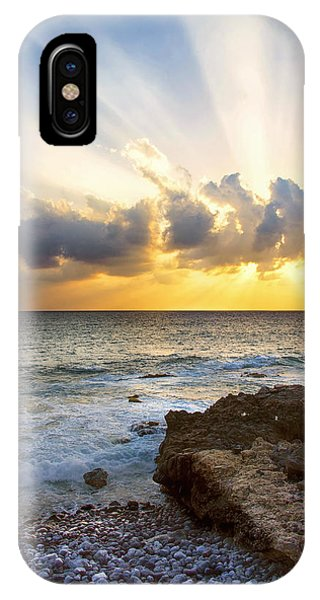 Sun Set iPhone Case - Kaena Point State Park Sunset 2 - Oahu Hawaii by Brian Harig