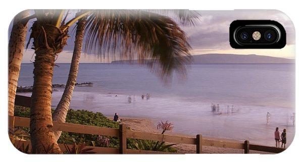 Kai Makani Hoohinuhinu O Kamaole - Kihei Maui Hawaii IPhone Case