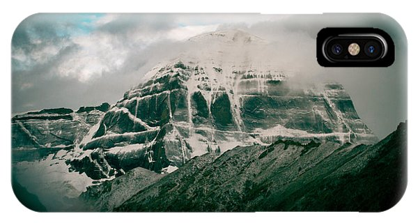 Kailas Mountain Tibet Home Of The Lord Shiva IPhone Case