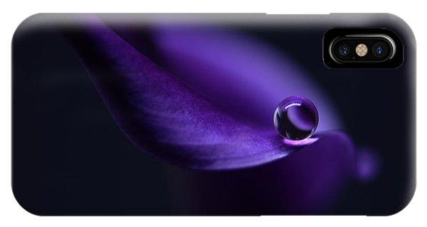 Violet iPhone Case - Kala`s Pearl Ll by Heidi Westum