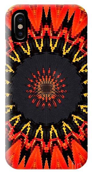 Kaleidoscope Aztec IPhone Case