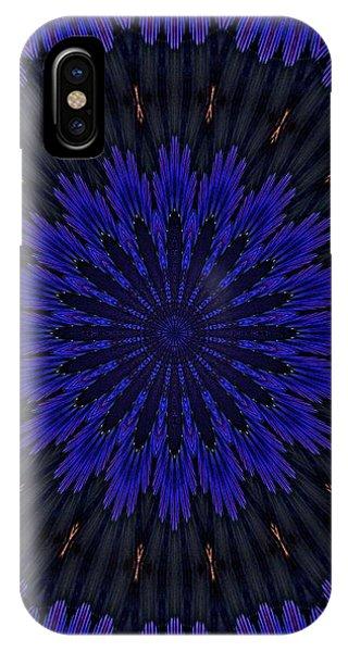 Kaleidoscope Feathers Two IPhone Case