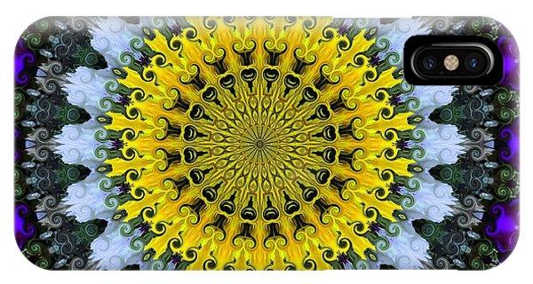 Kaleidoscope Flowers IPhone Case