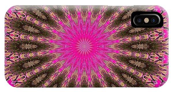 Kaleidoscope Lotus IPhone Case