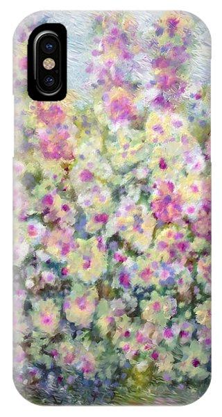 Kaleidoscope Of Flowers IPhone Case