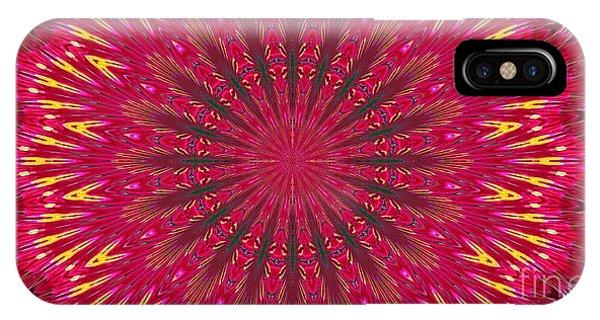 Kaleidoscope Orchid IPhone Case