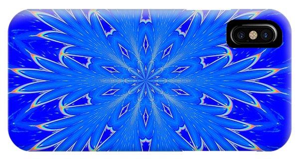 Kaleidoscope Snowflake IPhone Case