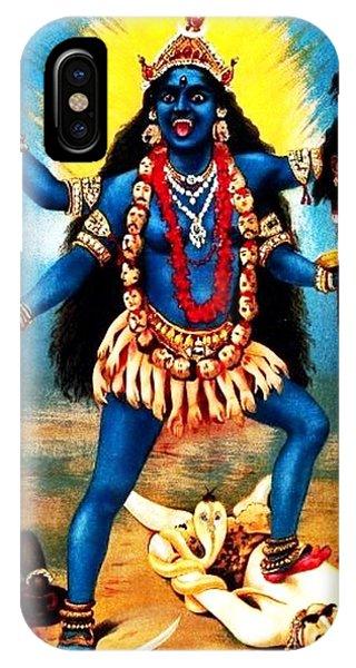 Kali - Trampling Shiva IPhone Case