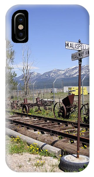 IPhone Case featuring the photograph Kalispell Crossing by Fran Riley