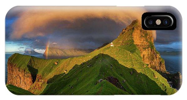 Rainbow iPhone Case - Kallur Sunset by Wojciech Kruczynski