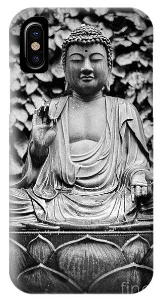 Kamakura Buddha Ix IPhone Case