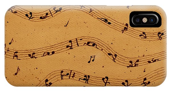 Kamasutra Music Coffee Painting IPhone Case