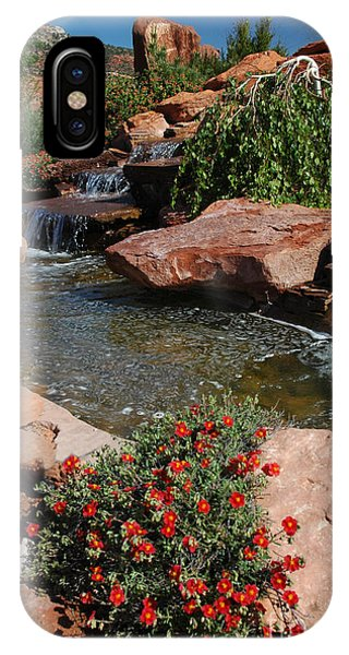 217p Kanab Ut Water Feature IPhone Case