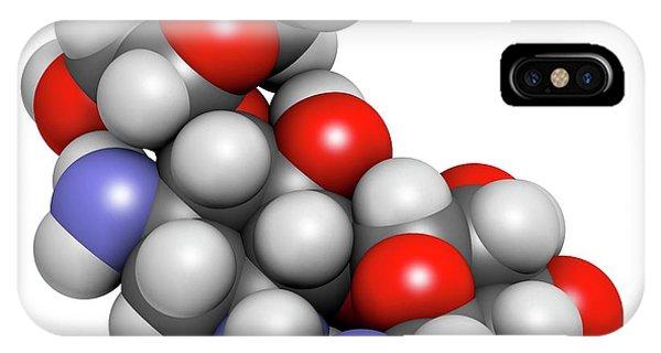 Kanamycin Antibiotic Drug Molecule Phone Case by Molekuul