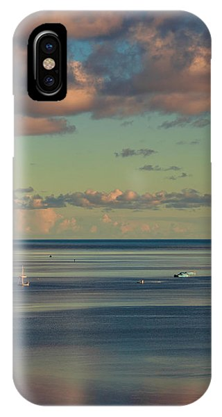 Kaneohe Bay Panorama Mural 4 Of 5 IPhone Case