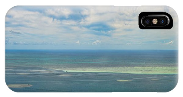 Kaneohe Sandbar Panorama IPhone Case