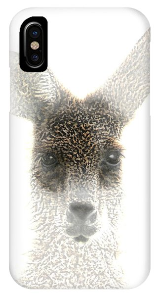 iPhone Case - Kangaroo by Holly Kempe