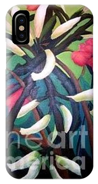 Kangaroo Paws IPhone Case