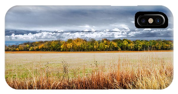 Kansas Fall Landscape IPhone Case