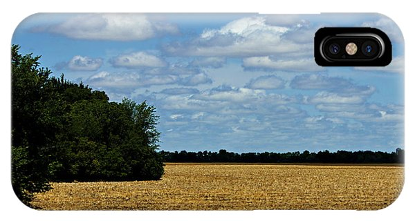 Kansas Fields IPhone Case
