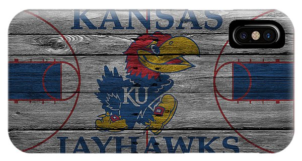 Students iPhone Case - Kansas Jayhawks by Joe Hamilton