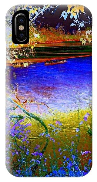 Kansas River 2 IPhone Case