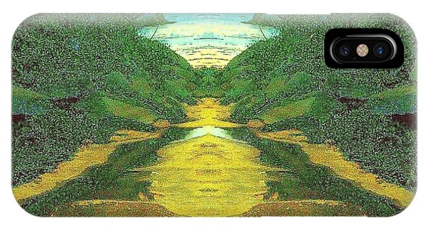 Kansas River IPhone Case
