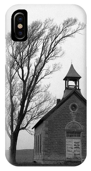 Kansas Schoolhouse IPhone Case