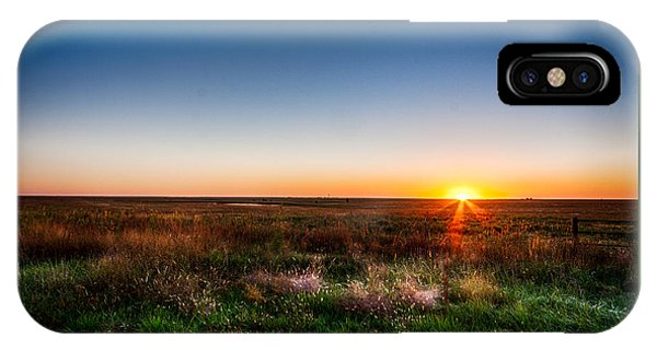 Kansas Sunrise IPhone Case