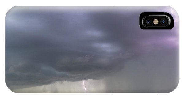 Kansas Thunderstorm IPhone Case