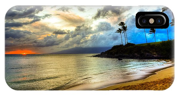 Kapalua Bay Sunset IPhone Case