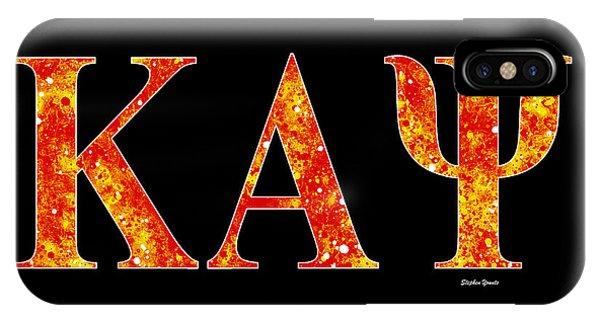 Achievement iPhone Case - Kappa Alpha Psi - Black by Stephen Younts