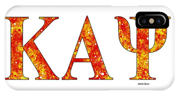 Achievement iPhone Case - Kappa Alpha Psi - White by Stephen Younts