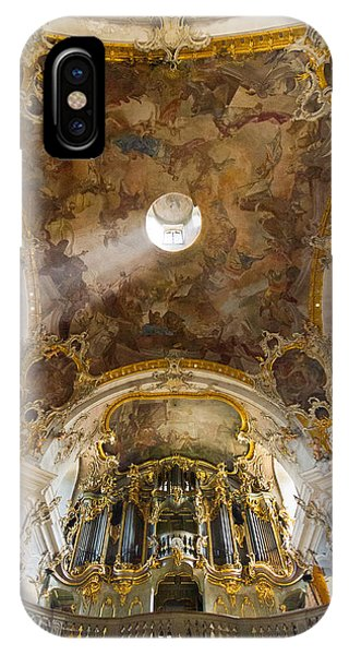 Kappele Wurzburg Organ And Ceiling IPhone Case
