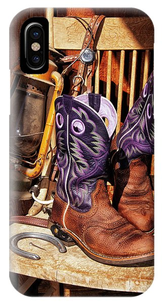 Karen's Cowgirl Gear IPhone Case
