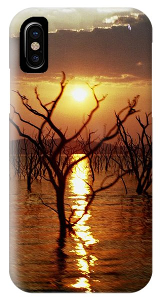 IPhone Case featuring the photograph Kariba Sunset by Jeremy Hayden