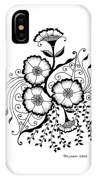Karla's Flowers IPhone Case