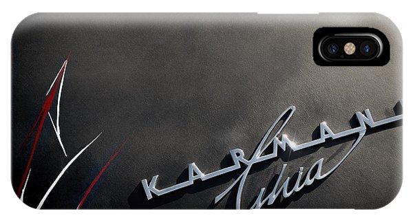Vw iPhone Case - Karmann Black by Douglas Pittman