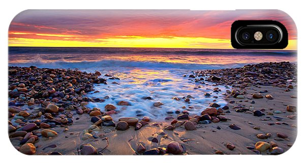 Sunset iPhone Case - Karrara Sunset by Bill  Robinson