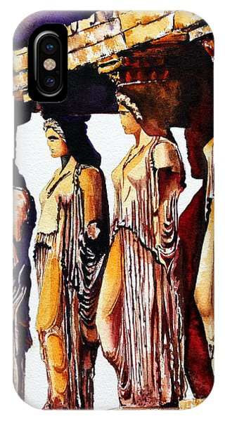 Karyatides IPhone Case