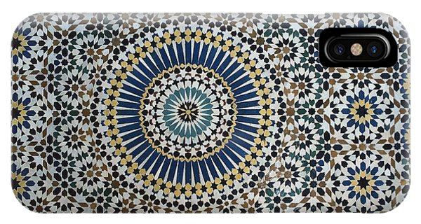 Kasbah Of Thamiel Glaoui Zellij Tilework Detail  IPhone Case