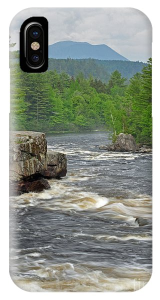 Katahdin And Penobscot River IPhone Case