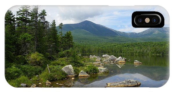 Katahdin And Sandy Stream Pond IPhone Case