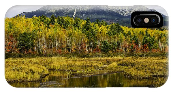 Katahdin Baxter State Park Maine IPhone Case