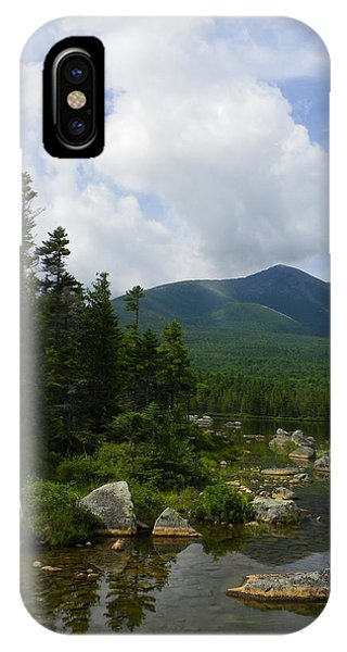 Katahdin From Sandy Stream Pond IPhone Case