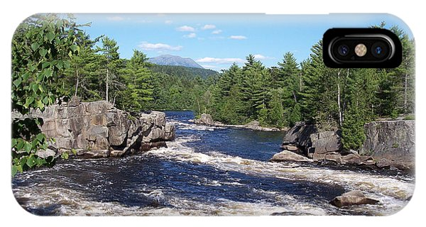 Katahdin From The Crib On The West Branch IPhone Case