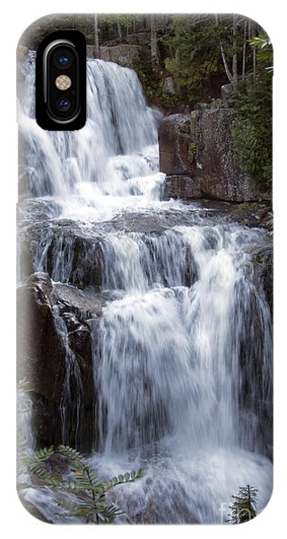 Katahdin Stream Falls Baxter State Park Maine IPhone Case