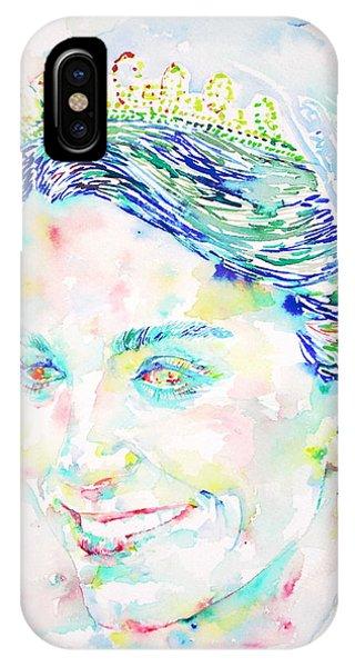 Kate Middleton Portrait.2 IPhone Case